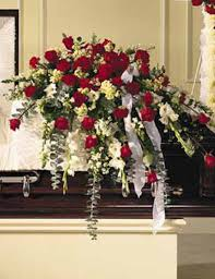 casket spray sympathy casket spray traditional virginia va flower