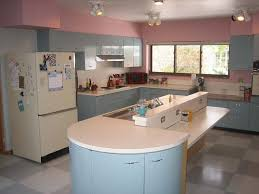 Robert And Caroline S Mid Century Home With Dreamy St by Metal Kitchen Cabinets Vintage Interior Design