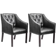 Leather Club Chairs For Sale Amazon Com Corliving Lad 608 C Antonio Accent Club Chair In Black