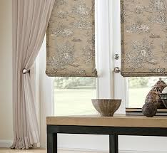 Flat Roman Shades - custom drapery roman shades blinds shutters shades plantation