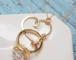 Wedding Ring Holder by Diamond Ring Holder Necklace Wedding Ring Holder Necklace