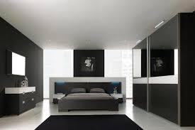 chambre noir et blanc design chambre sol noir outil intéressant votre maison