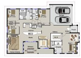 floor plans for a 4 bedroom house 4 bedroom home plans and designs nrtradiant com
