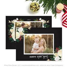 christmas photo card christmas card template for photographers