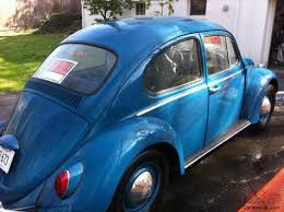 volkswagen bug blue blue volkswagen beetle 2 door coupe