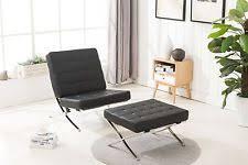 modern leather chair ebay