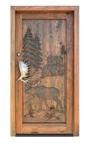 Little Store Of Home Decor Moose Cabin Wooden Wall Art Sign Lake Lodge Hunting Nature Decor