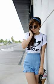 Theeffortlesschic How I Wear My Tees That First Hello ƹ ӝ ʒ