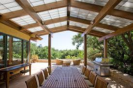 Clear Patio Roofing Materials Translucent Patio Roof Panels Houzz