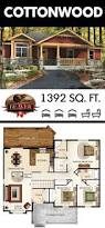 best 25 small house plans ideas on pinterest small house floor the smooth flow of the cottonwood s floor plan makes for easy accessibility and movement bonus the craftsman like exterior provides stunning curb appeal