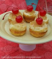 mini pineapple upside down cheesecakes mycuprunnethoverblog