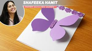 how to make greeting cards big butterfly birthday cards