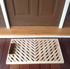 vermont wooden doormats handcrafted vermont product bennington