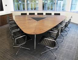 Office Furniture Table Meeting Omega Veneered Conference Table Oficinas Offices Pinterest
