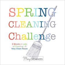 Spring Cleaning by Spring Cleaning Challenge Week 1 Creatingmaryshome Com