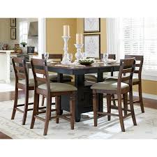 john thomas select gathering table w storage base cedar hill
