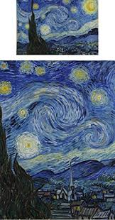 Starry Night Comforter Amazon Com The Starry Night Van Gogh 1889 Duvet Cover Set
