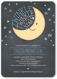 boy baby shower invitations twinkle twinkle 5x7 boy baby shower invitatio shutterfly