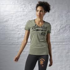 reebok womens clothing t shirts u0026 long sleeves discount reebok