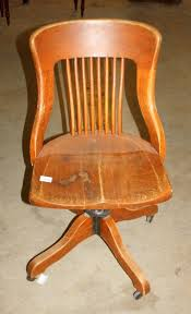 Vintage Wood Chairs Vintage Wood Office Chair Crafts Home