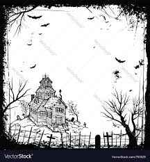 halloween background of wich halloween background royalty free vector image