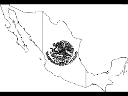 mexico flag coloring page free printable orango coloring pages