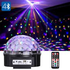 led disco ball light led disco ball light projector bluetooth speaker house party