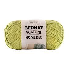 bernat maker home dec yarn bulky chunky 72 cotton 28 nylon ebay