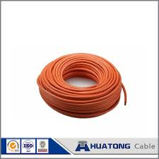china pvc coated electric wire single strand copper electrical