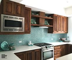 blue kitchen walls with brown cabinets renovating your kitchen consider the minis collection for a
