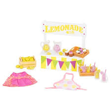 themed l li l woodzeez themed playset lemonade stand target
