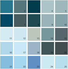 benjamin moore paint colors blue palette 10 house paint colors