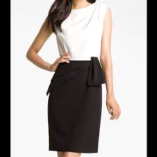 papell dress 49 papell dresses skirts black and white dress