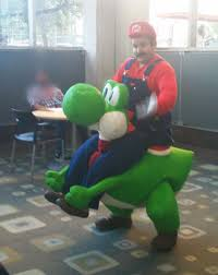 Ostrich Halloween Costume Super Mario Yoshi Rider Costume 17 Steps With Pictures