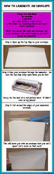 How To Fold Envelope How To Laminate An Envelope U2022 A Turn To Learn
