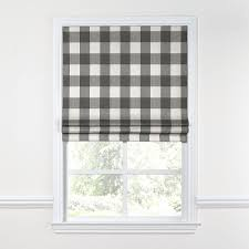 Roman Curtains Flat Roman Shade Roman Gray And Window