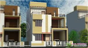 row house design 3 story house plan design in 2626 sqfeet kerala home 3 storey