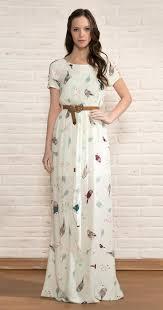 antix vestidos vestido longo pássaros étnicos vestuá antix store moda