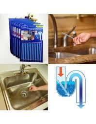 Sani Sticks As Seen On TV Drain Cleaner And Deodorizer Unscented - Kitchen sink deodorizer