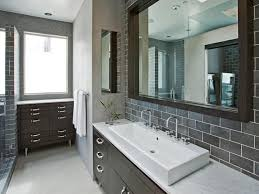 choosing a bathroom backsplash hgtv gray master bathroom