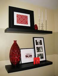 How To Decorate Floating Shelves Best 25 Black Shelves Ideas On Pinterest Black Floating Shelves