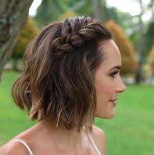 plaited hairstyles for short hair 16 beautiful boho wedding hairstyles short wedding hair boho