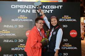 thor ragnarok opening night fan event amc theatres on twitter it was main event time at our