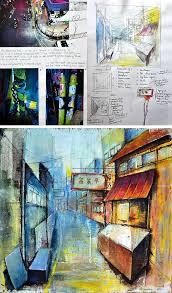 Art And Design Gcse A Gcse Art Coursework Sense Of Place