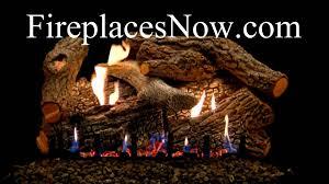 empire super sassafras refractory vented vent free gas logs