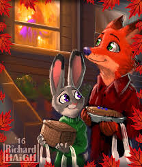 happy thanksgiving zootopia by pen on deviantart