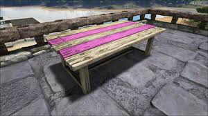 Wooden Table Wooden Table Official Ark Survival Evolved Wiki