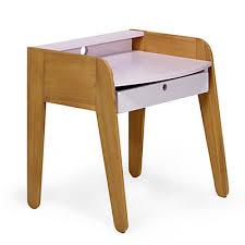 bureau pour enfant petit bureau table carrée pour enfant pieds rouges acaya