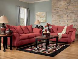 Red Sofa Sets by Durapella Red Sofa Set By Signature Design