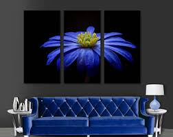 Daisy Room Decor Blue Daisy Etsy